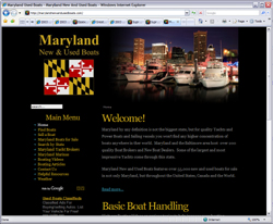MaryLand Used Boats