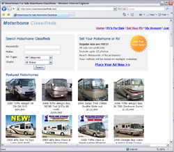 Motorhome Classifieds
