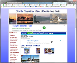 North Carolina Used Boats